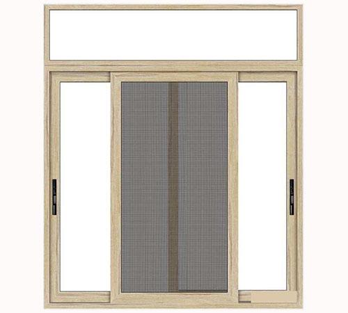 金刚网纱窗一体窗